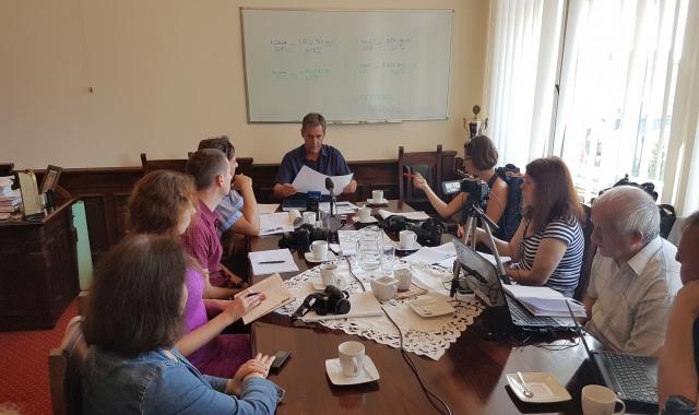 Start akcji - konferencja u Burmistrza